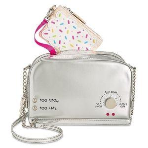 Betsey Johnson NWT toaster purse + coin purse